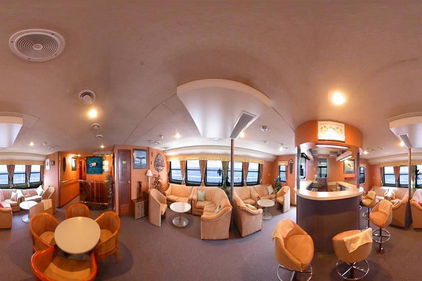 Indoor Salon - Ocean Quest Liveaboard Outer Barrier Reef