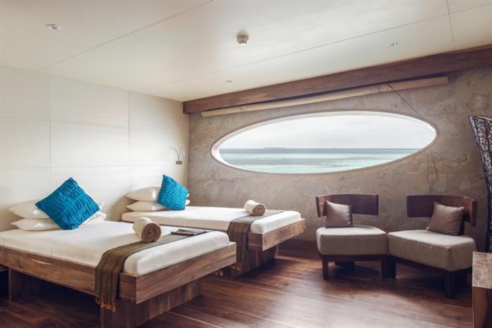 Scubaspa Yang Liveaboard Dolphin Suite