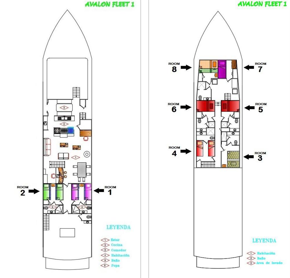 Deckplan Grundriss
