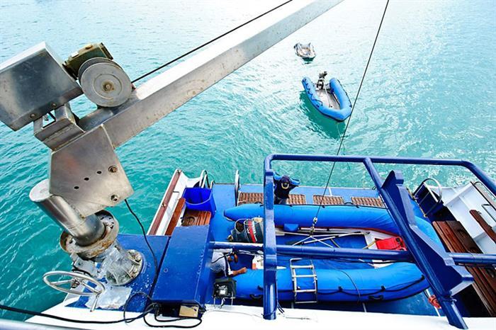Dive tenders - Deep Andaman Queen