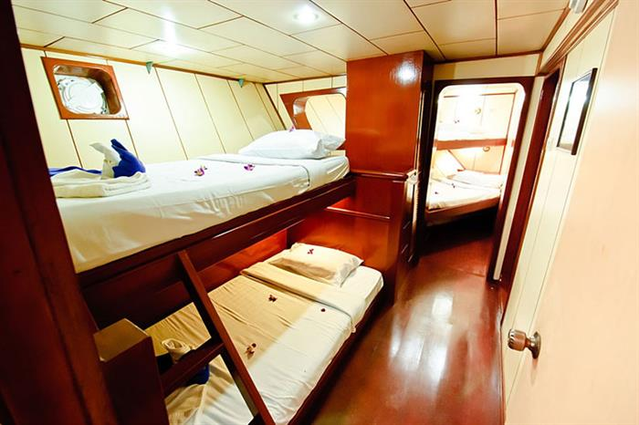 Standard Twin Cabin - Deep Andaman Queen