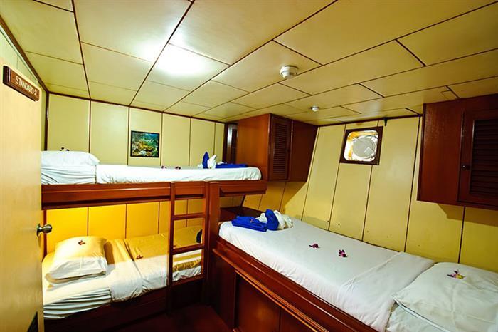 Standard Triple Cabin - Deep Andaman Queen