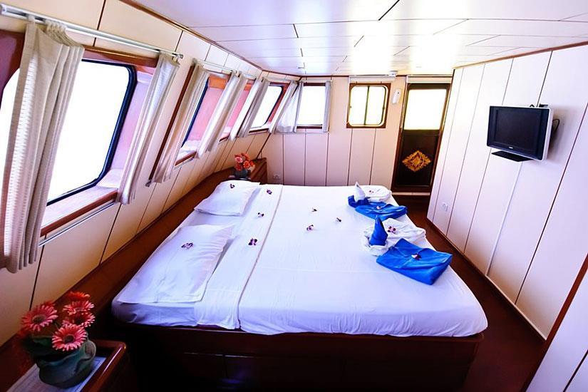 Master Cabin - Deep Andaman Queen