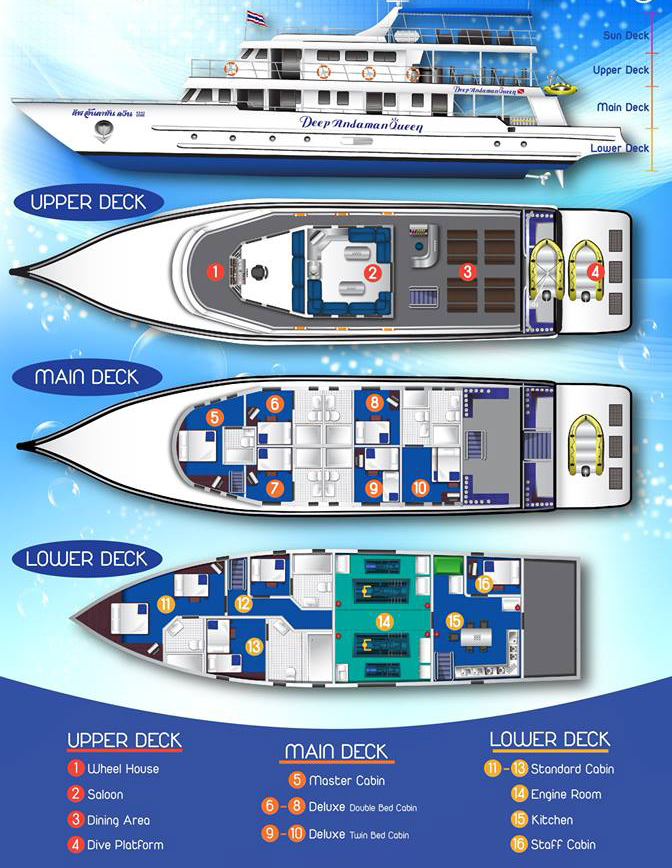 Deep Andaman Queen floorplan