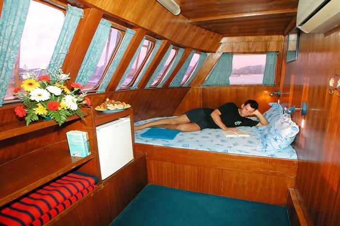 MV Marco Polo Liveaboard Double AC Cabin