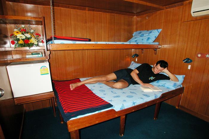 MV Marco Polo Cabin