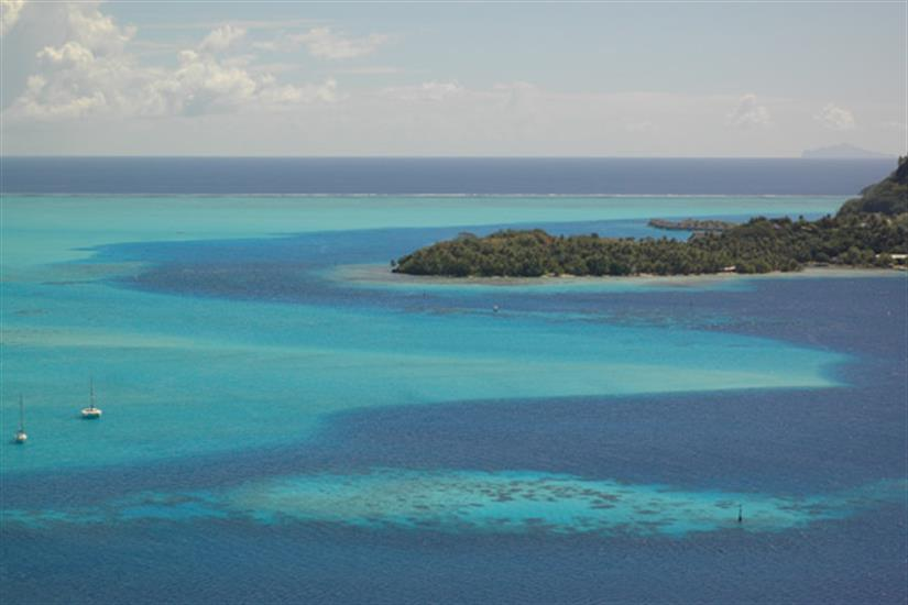 Stunning French Polynesia landscapes