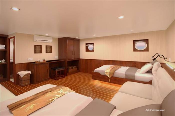 Blue Manta Liveaboard Twin Cabin