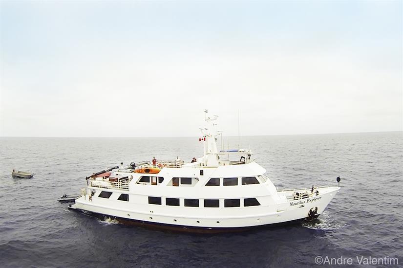 Nautilus Explorer at Sea