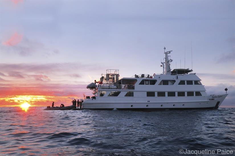 Amazing diving, amazing sunsets - Nautilus Explorer