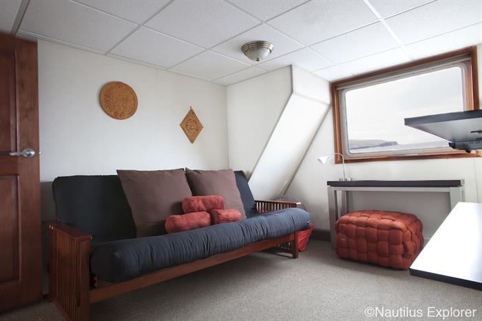Premium lounge area - Nautilus Explorer