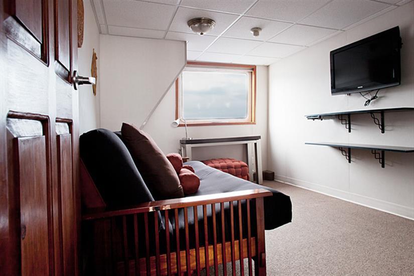 Premium cabin lounge area - Nautilus Explorer