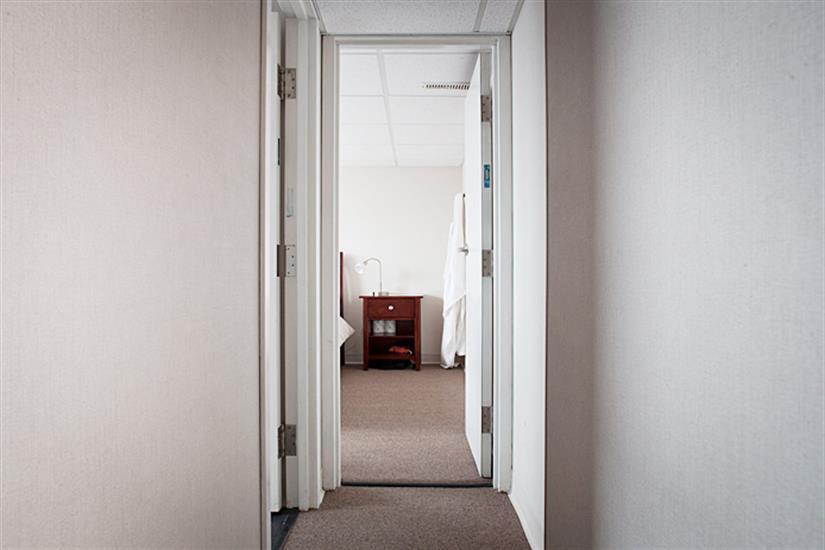 Premium cabin hallway - Nautilus Explorer