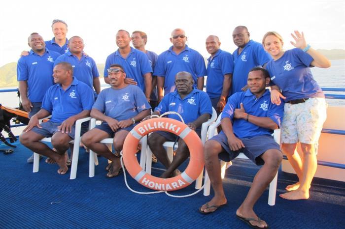 Bilikiki Liveaboard Crew
