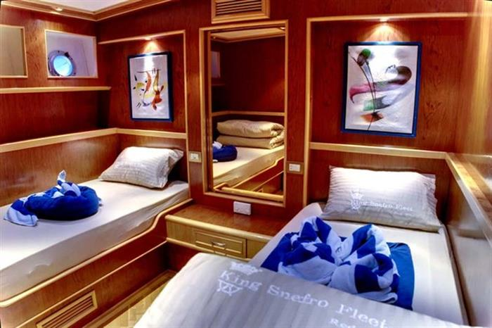 Twin Berth Cabin - Snefro Love