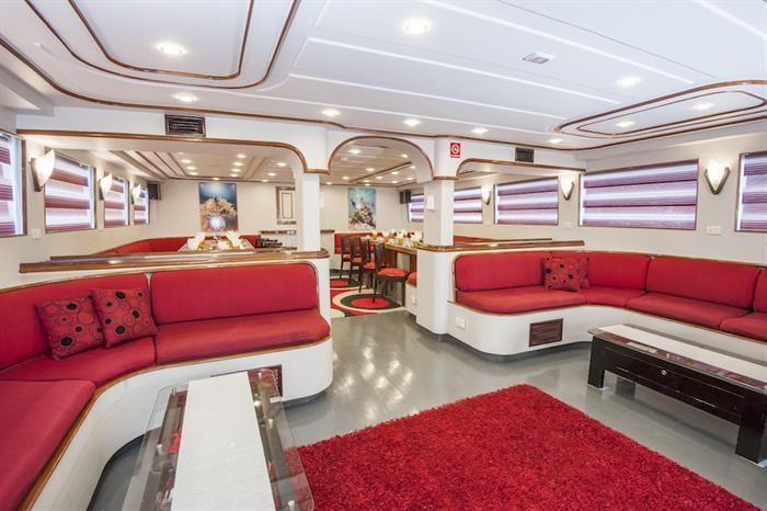 Indoor Lounge Area - Red Sea Adventurer
