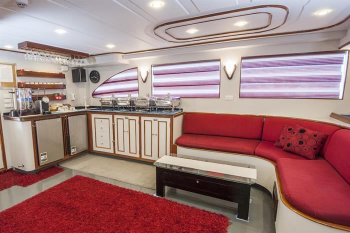 Lounge Area - Red Sea Adventurer
