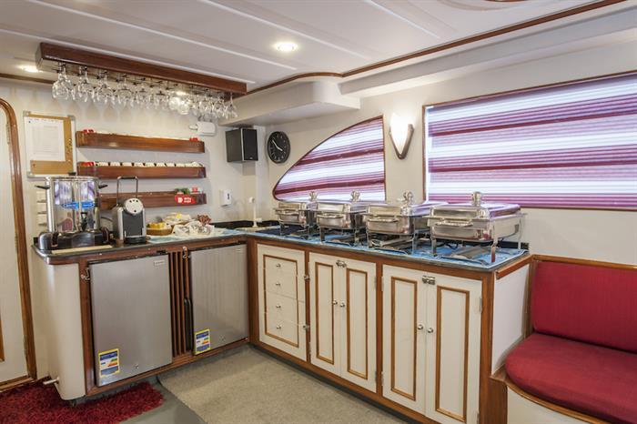 Indoor Saloon - Red Sea Adventurer