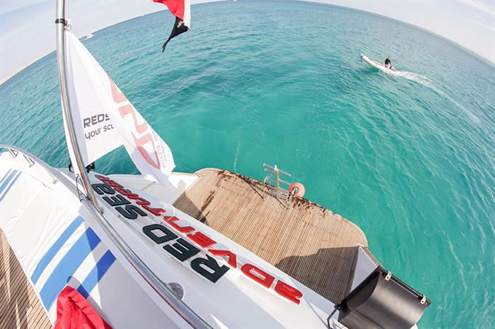 Dive platform and RIB/Tender for Red Sea Adventurer