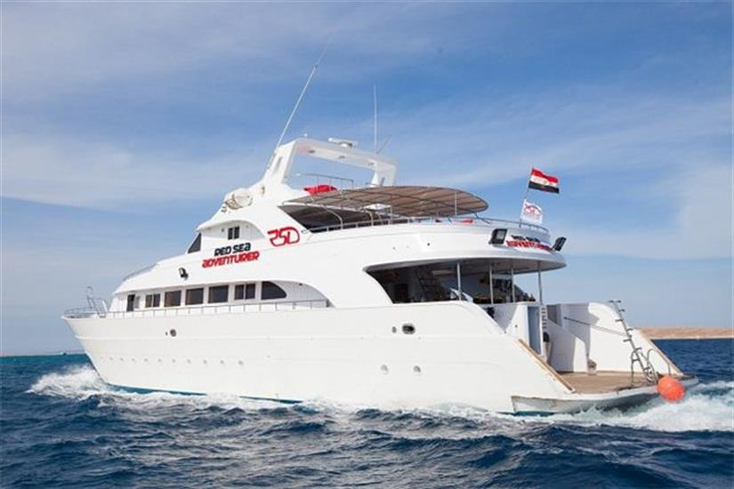 Red Sea Adventurer cruising the Red Sea