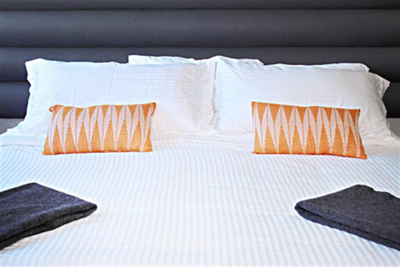 Comfortable bedding in all cabins - Nautilus Belle Amie
