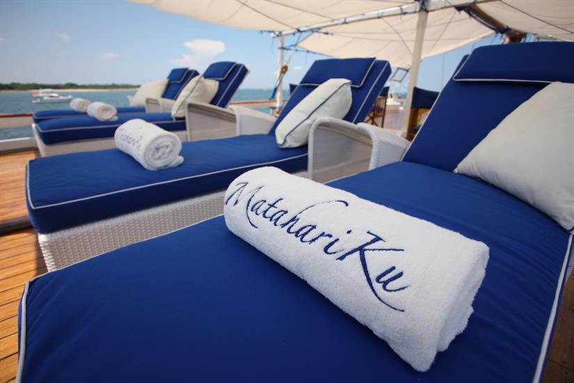 Relax in comfort aboard the MatahariKu Indonesia