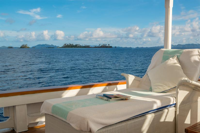 Relax on the sun deck - MatahariKu Indonesia