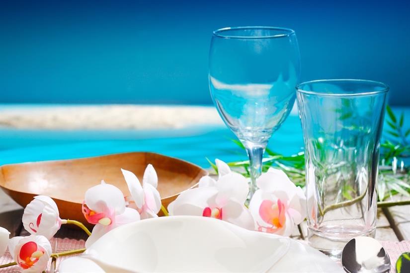 Beach dining - MatahariKu Indonesia