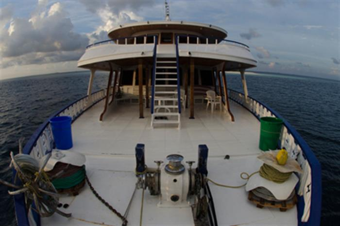 Bow area - Blue Shark 2 Liveaboard Maldives