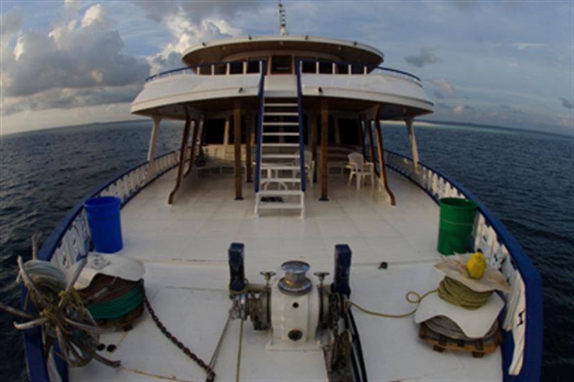 Bow area - Blue Shark 2 Liveaboard Maldives