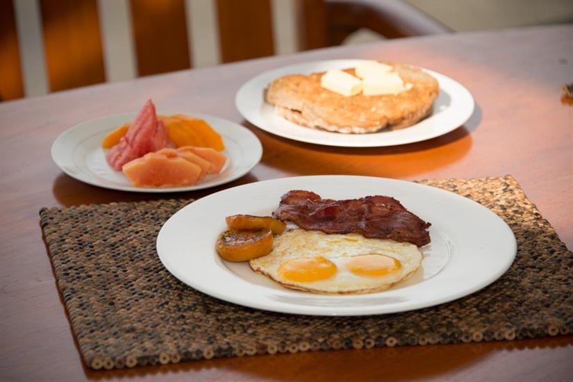 Dewi Nusantara Liveaboard Breakfast