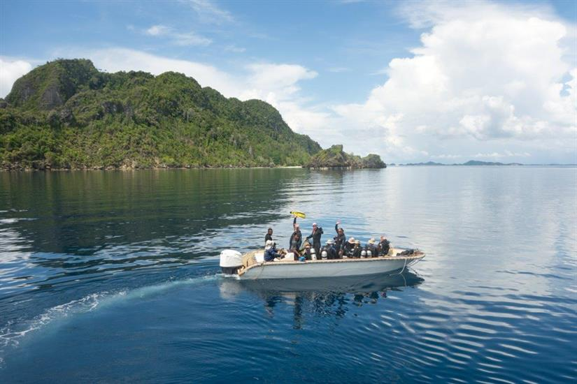 Unexplored diving aboard the Dewi Nusantara Liveaboard Indonesia