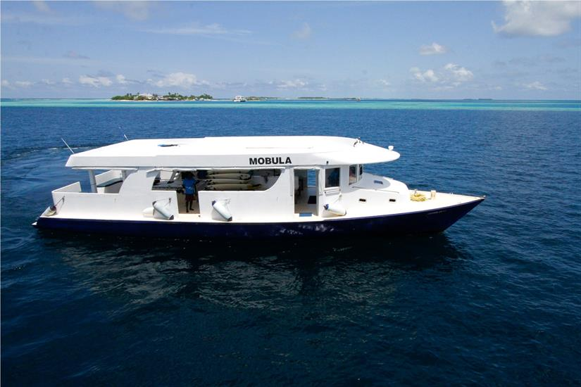 Manta Cruise Liveaboard Very comfortable and spacious diving Dhoni