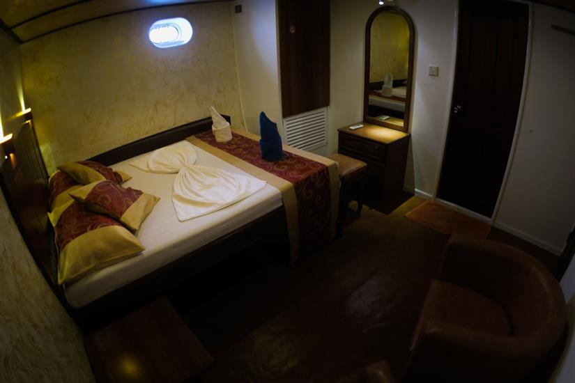 Standard Room aboard Manta Cruise Liveaboard