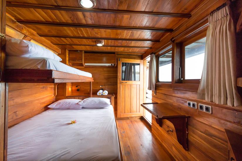 Our upper deck master cabin