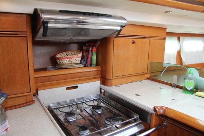 Kitchen - Vision III Cuba Liveaboard