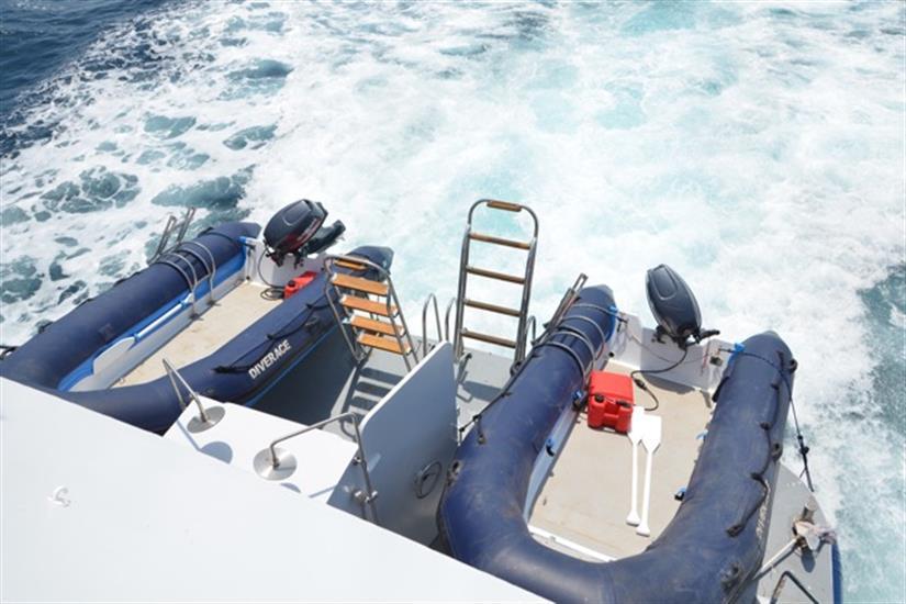 MV DiveRACE Class E Dive Tenders