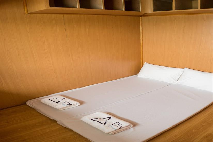 Massage Room aboard the MV DiveRACE Class E Liveaboard