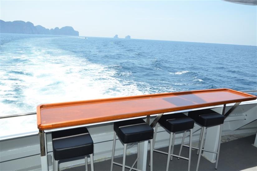 Amazing views aboard MV DiveRACE Class E Liveaboard