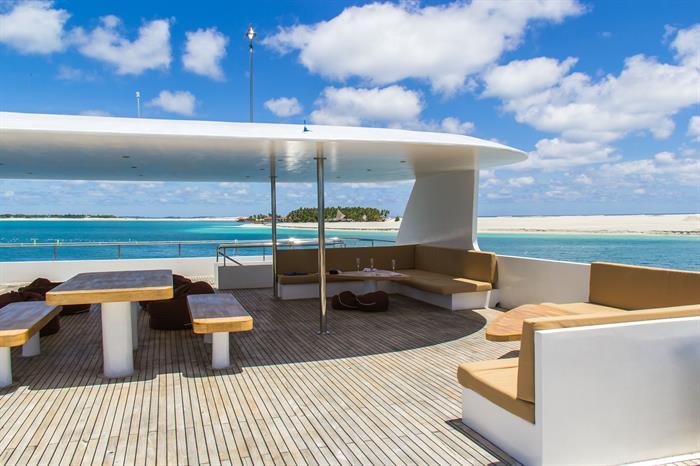 Sun Deck - Adora Liveaboard Maldives