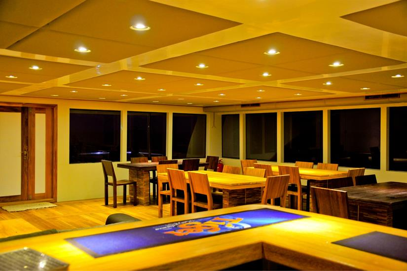 Adora Liveaboard Maldives Dining Room