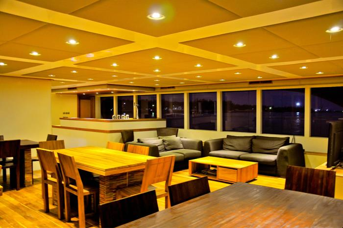 Lounge Area Adora Maldives Liveaboard Diving