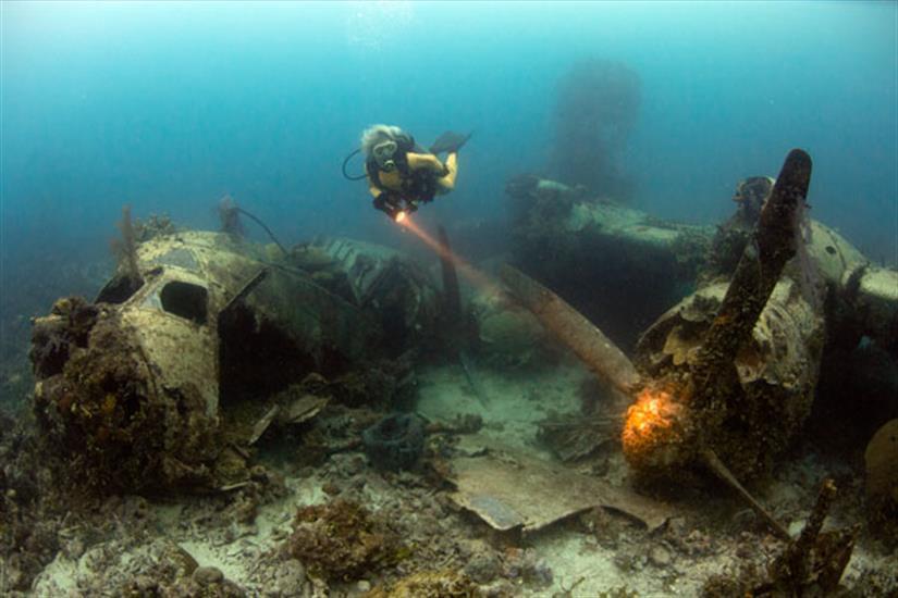Amazing Truk Lagoon Diving