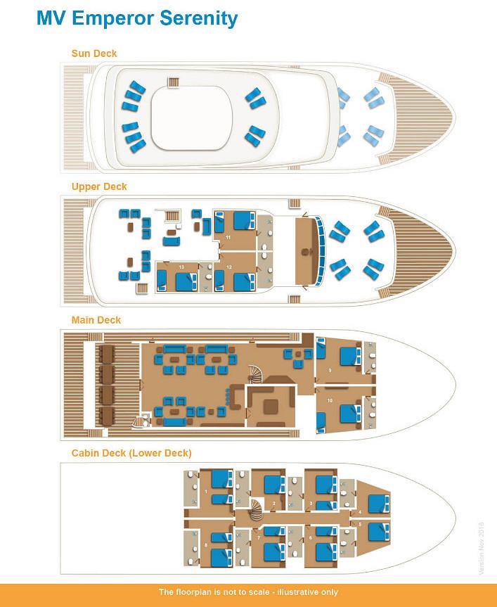 Emperor Serenity Floor Plan floorplan
