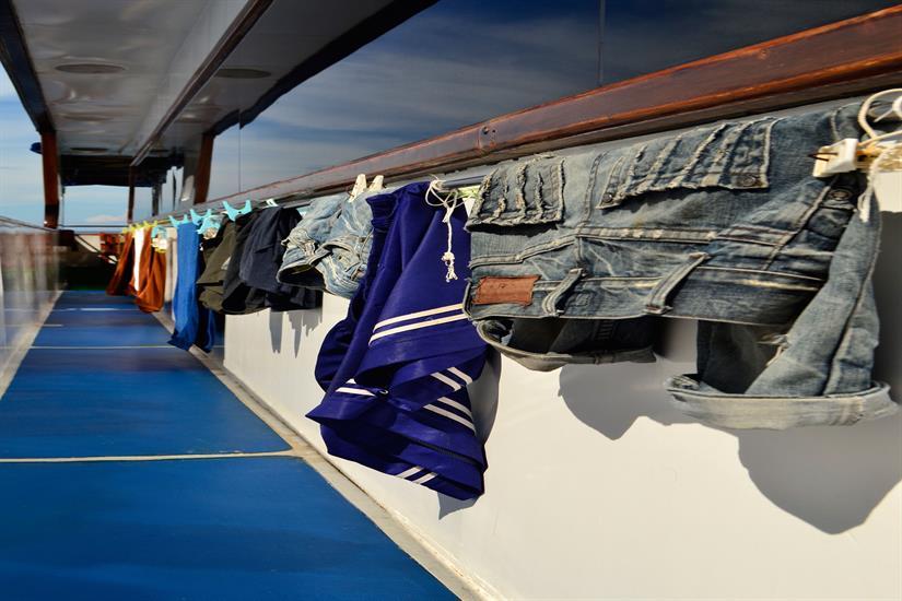 Room to Dry clothes aboard the MV Scuba Explorer Dive Liveaboard Thailand