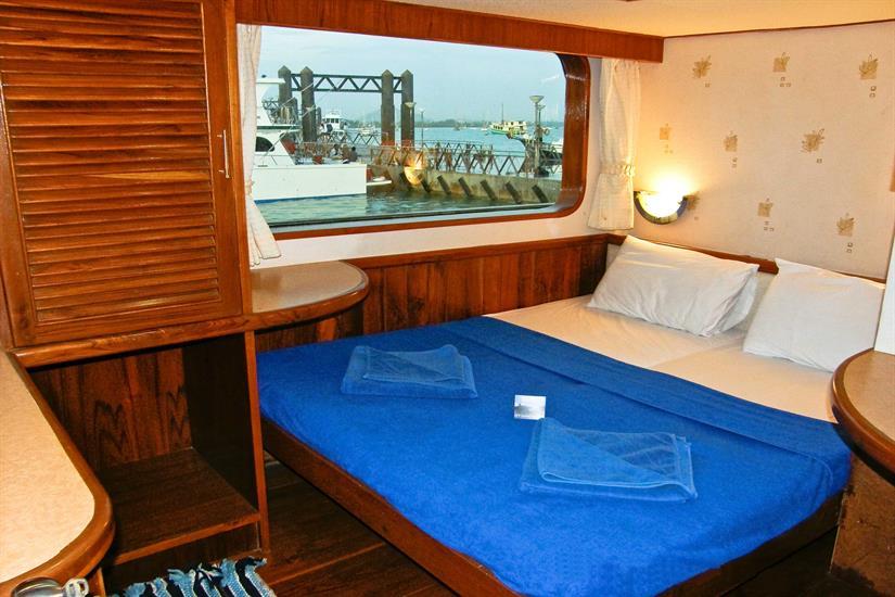 Double deluxe cabin Scuba Explorer Liveaboard Thailand