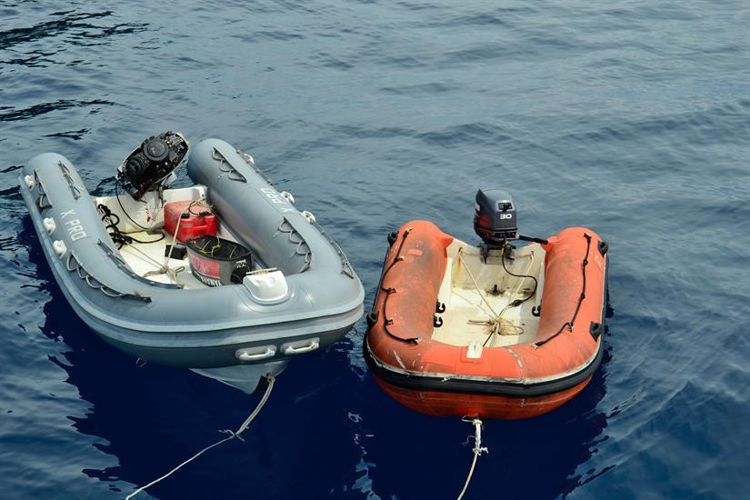 2 Tenders aboard the MV Scuba Explorer