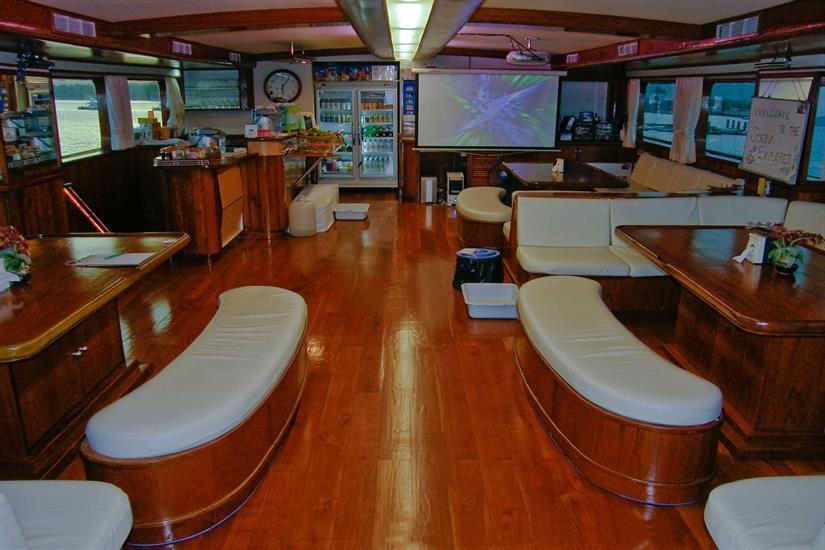 Scuba Explorer Liveaboard Indoor Salon