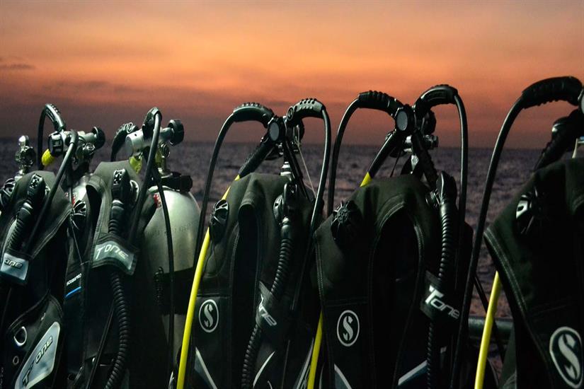 Scuba Explorer Liveaboard Night Diving