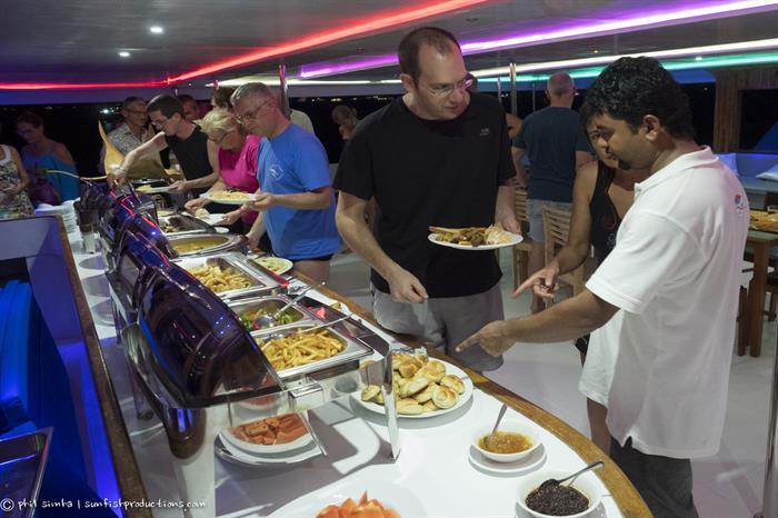 Buffet Dinner - Soleil 2 Liveaboard